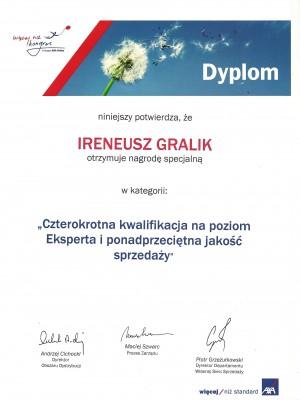 Czterokrotna kwalifikacja na Eksperta za 2009 rok